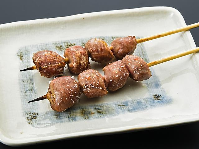 砂肝(2本 塩orタレ)300円